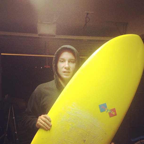 Kyle McCrossan with his new Physix board!  #physixsurf #instagood #whatsgood #photooftheday