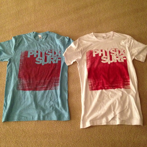 More shirts hope you like #instagood #igdaily #hyfr #rip #weonone #surf #physixsurf