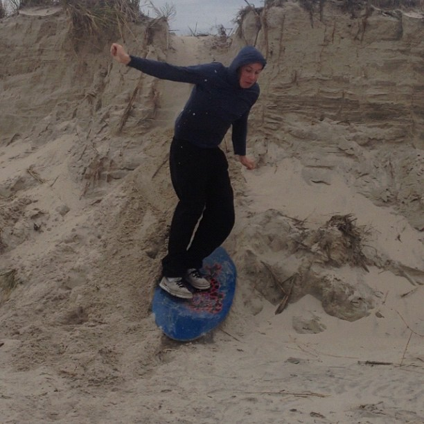 Kyle sand dune surfing  yes he made the 8 foot drop #physixsurf #insatgood #whatsgood #letsgo #photooftheday #yewww
