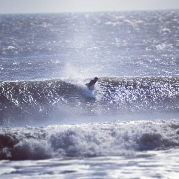 Kyle Mccrossan catching some swell. #physixsurf