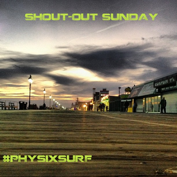 Don't forget to tag your photos with #physixsurf for a chance to win a shout-out tomorrow!