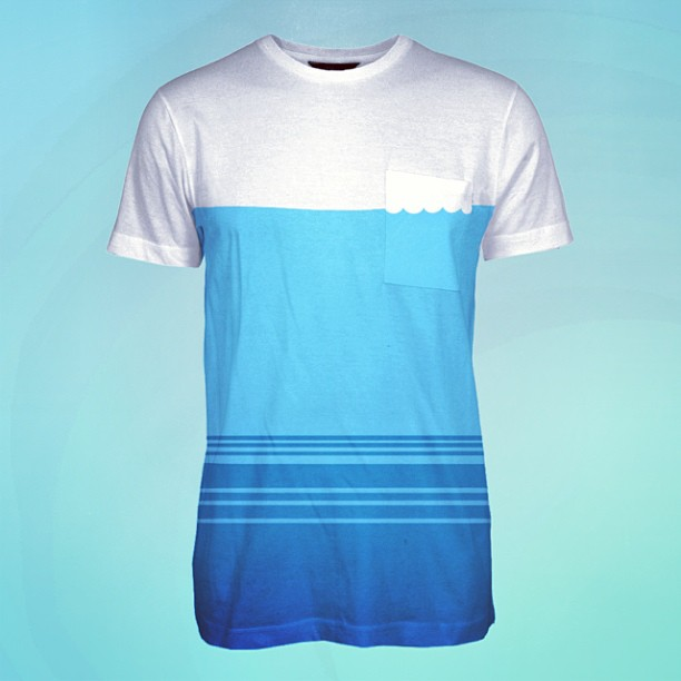 Would you rock the pocket wave pocket tee?? #physixsurf