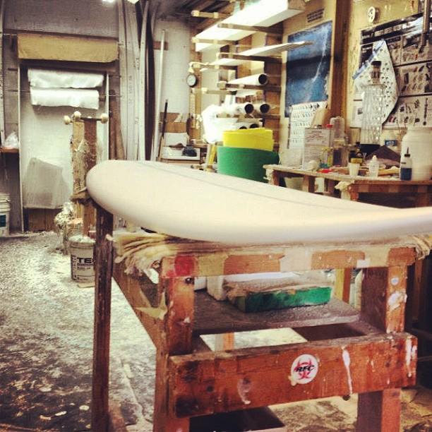 Boards taking shape! #physixsurf