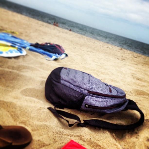 Backpack now beach bag