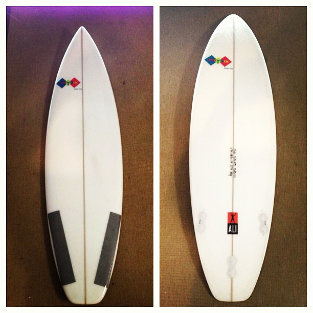 Say hello to the newest member of the board line... The Ali #physixsurf